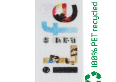 100% PET recyclé