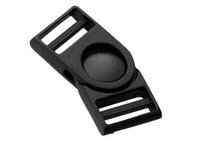 Boucle détachable articulée plastic noir A3
