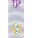 Polyester fin tissage transversale