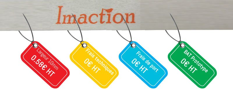 Prix sublimation Imaction