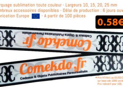 Tours de cou sublimation 0.58€ HT