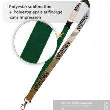 Tour de cou polyester sublimation